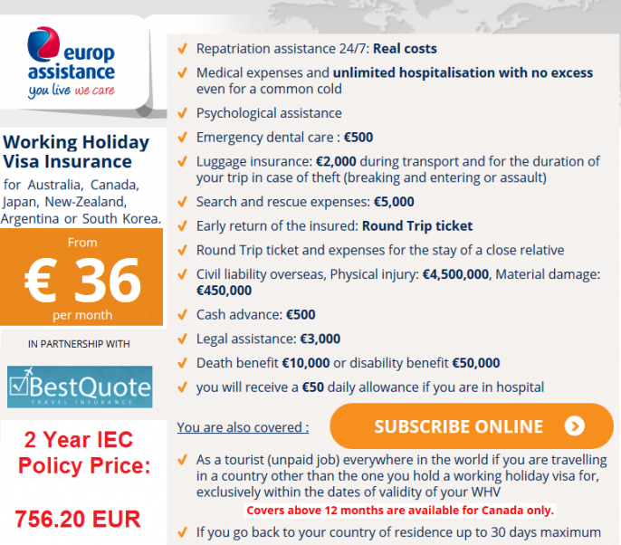 IEC Insurance from France